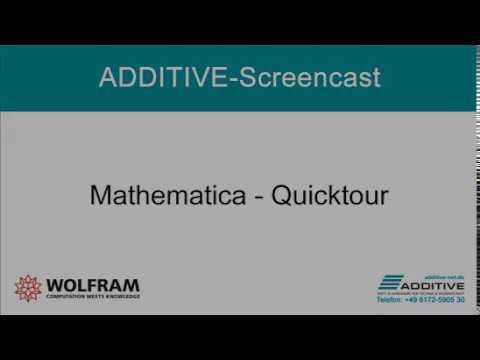 QuickTour durch Wolfram Mathematica