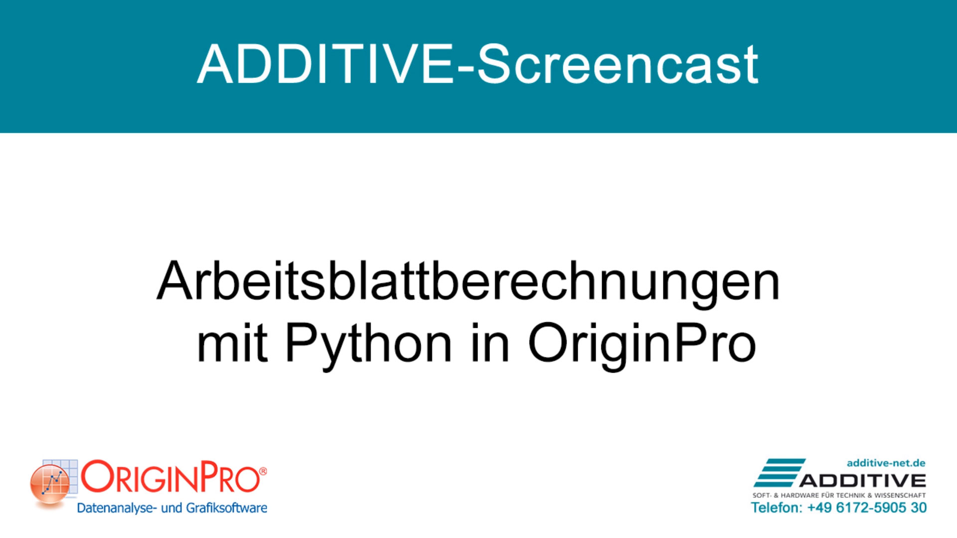 Arbeitsblattberechnungen mit Python in OriginPro 2021